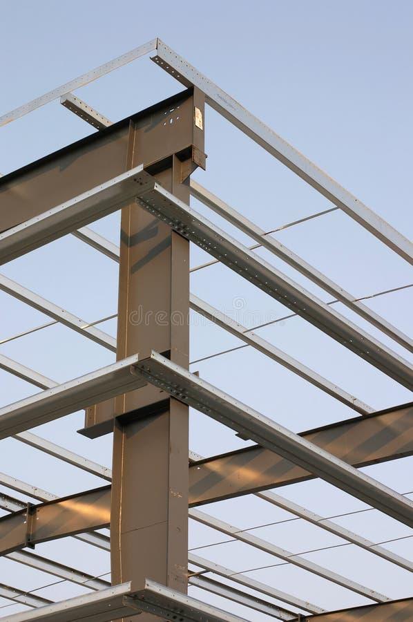 corner steel στοκ εικόνα