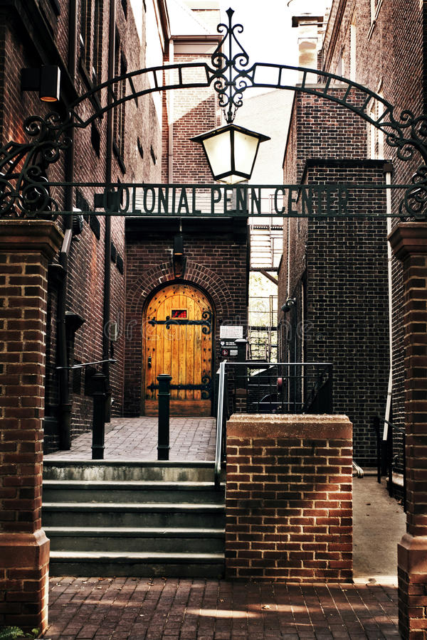 A Corner of University of Pennsylvania stock photo