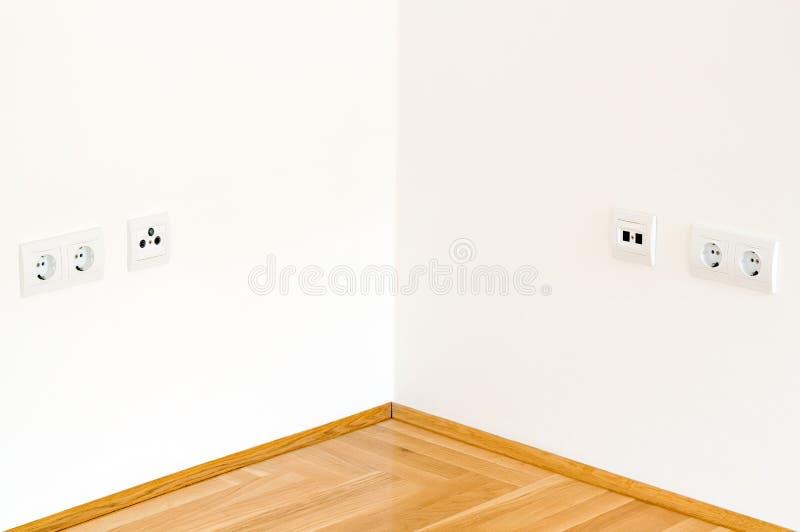 Download Corner wall stock photo. Image of slot, indoors, domestic - 19836692