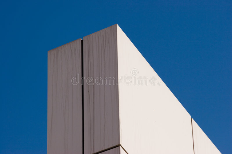 Corner of a wall royalty free stock photos