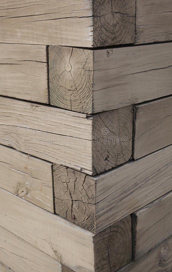 Download Corner Of A Wooden Structure Stock Photo - Image: 34791148