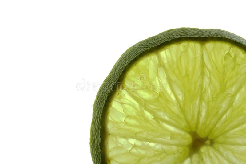 Cornered green stock image