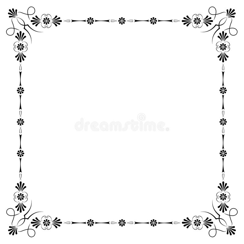 Download Corners and borders stock vector. Image of award, vector - 8084215