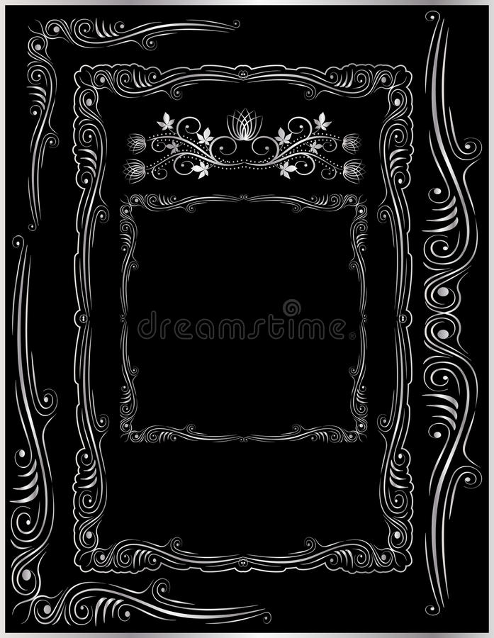 Corners And Ornaments Royalty Free Stock Image