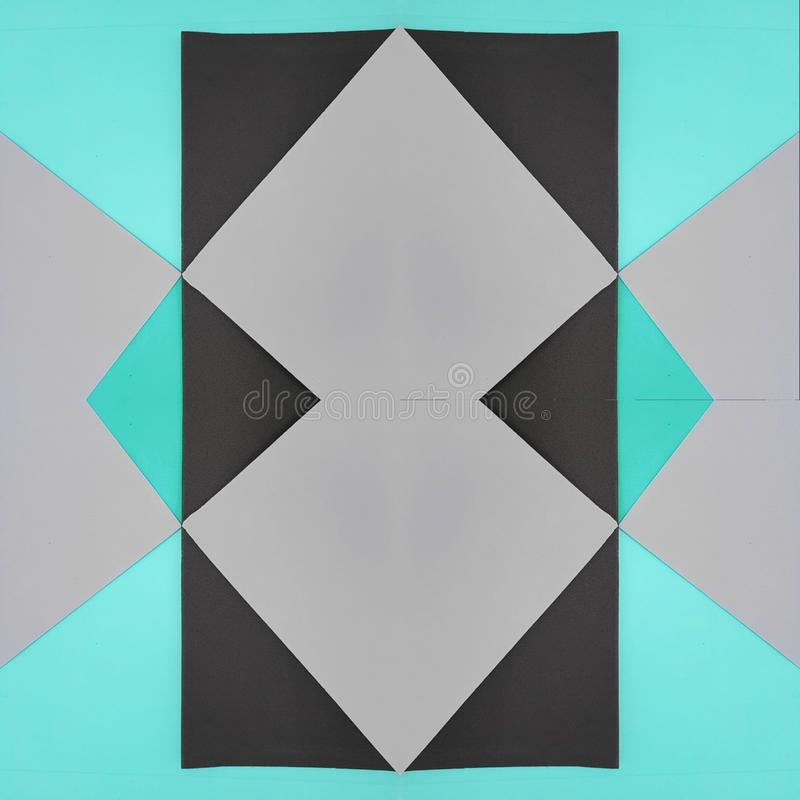 Frame With Cutouts Of Foamy In Colors Light Blue And Grey ...