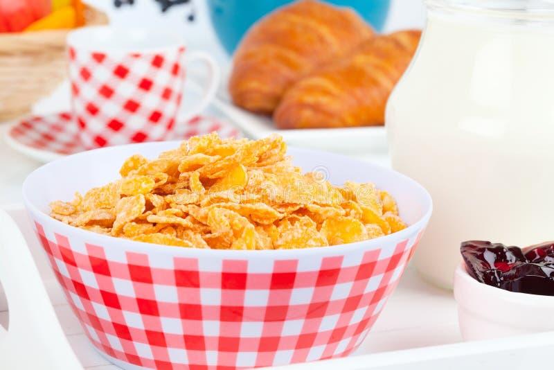 Cornflakes stock afbeeldingen