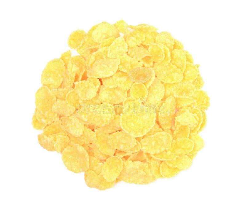 Cornflakes isolated on white background stock image