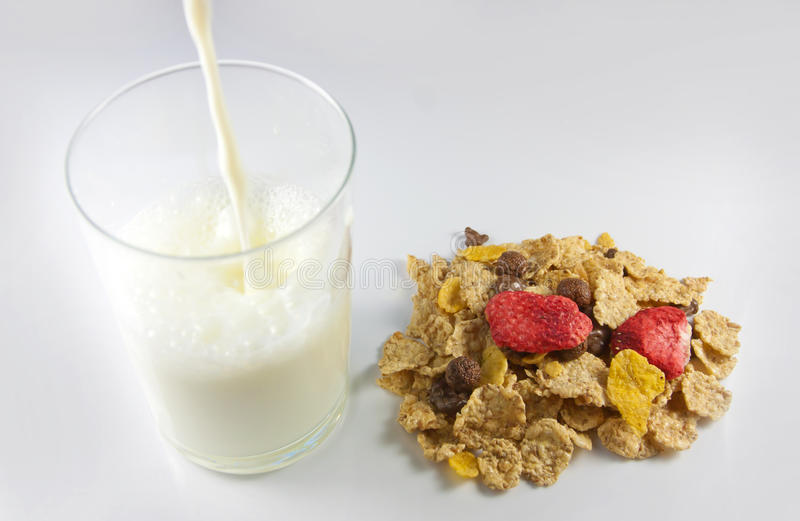 Download Cornflakes With Milk Royalty Free Stock Photography - Image: 17829297