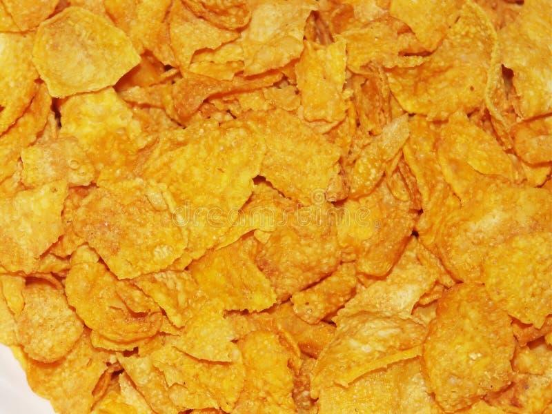 Cornflakes voor ontbijt #2 stock foto's