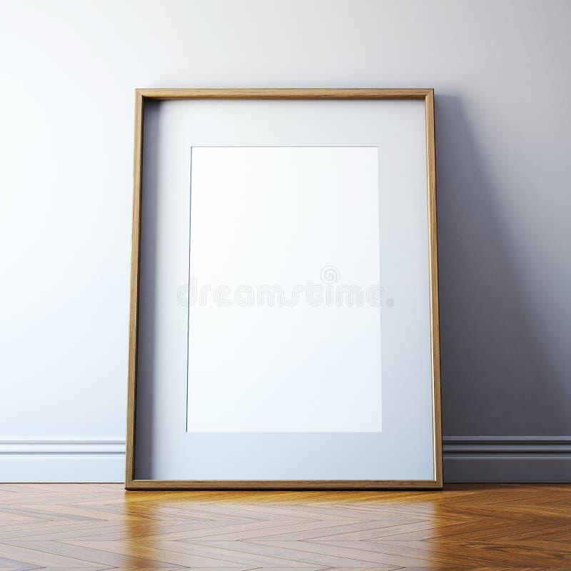 Cornice in bianco fotografia stock