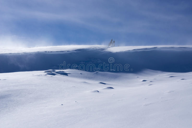 Cornice da neve fotos de stock