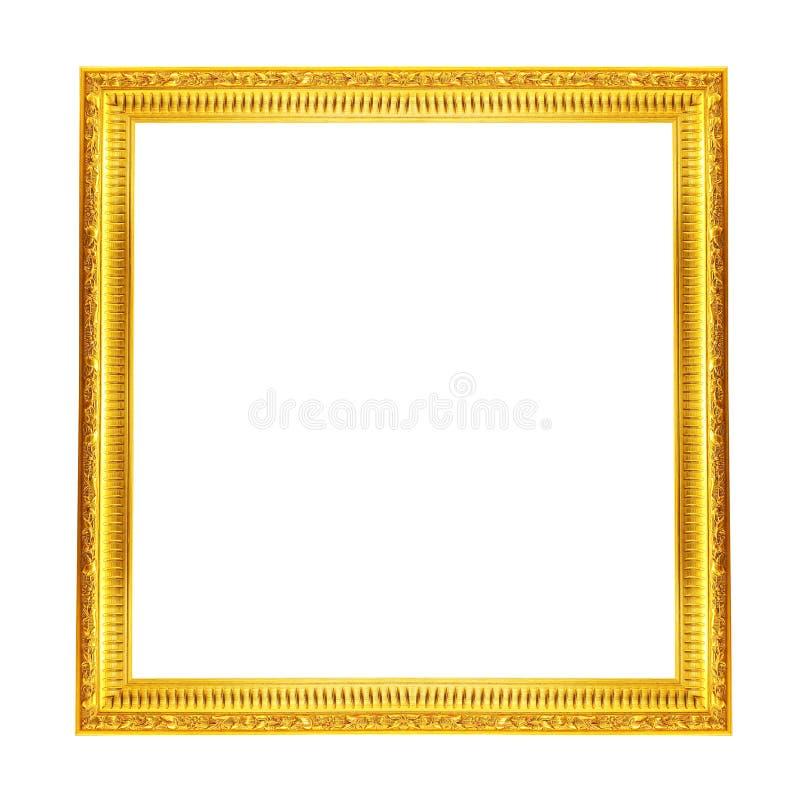 Cornice dell'oro fotografia stock libera da diritti