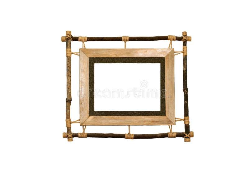 Cornice di legno fotografie stock libere da diritti