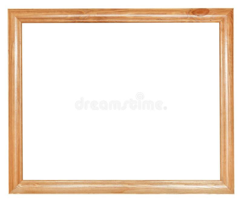 Cornice di legno semplice immagine stock immagine di for Cornice foto legno