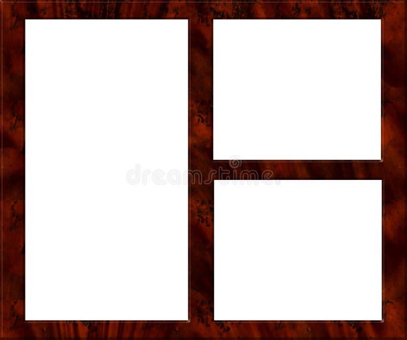Cornice di legno - svuoti royalty illustrazione gratis