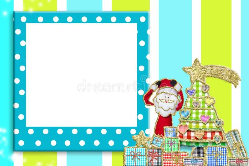 Cornice di Natale per i bambini o i bambini immagini stock libere da diritti
