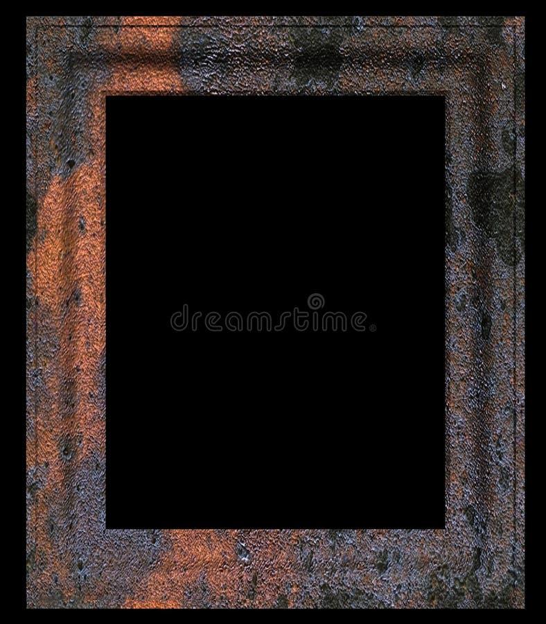 Cornice invecchiata e vuota fotografie stock libere da diritti