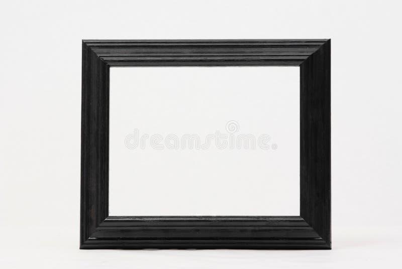 Cornice nera classica immagine stock