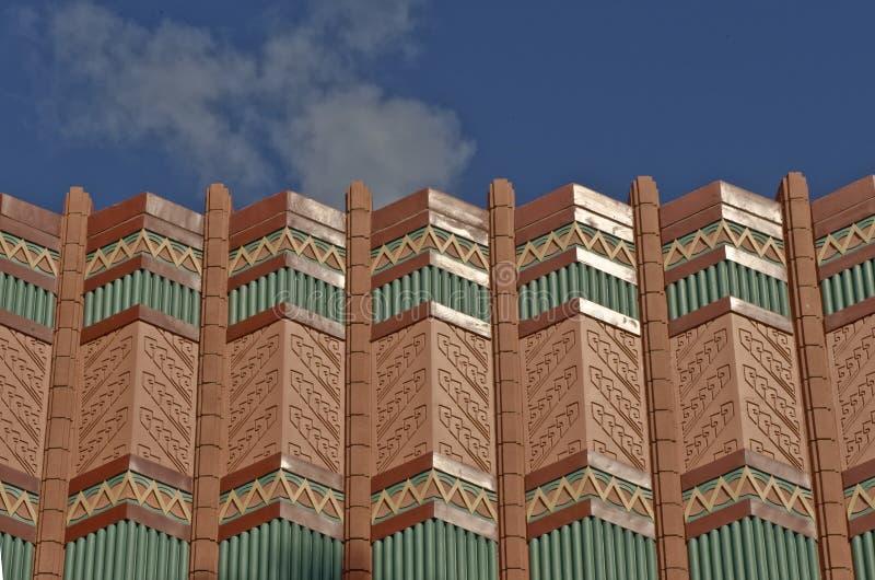 Cornice ornamentado do telhado   fotos de stock royalty free