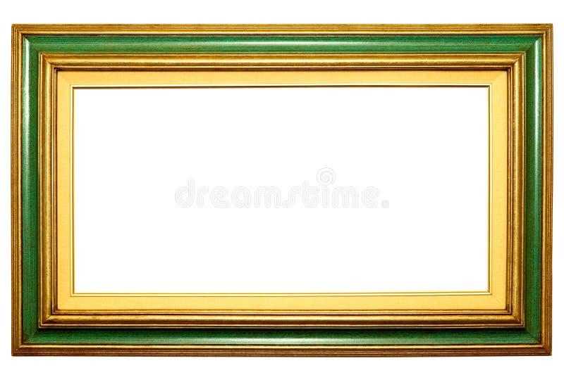 Cornice verde fotografia stock