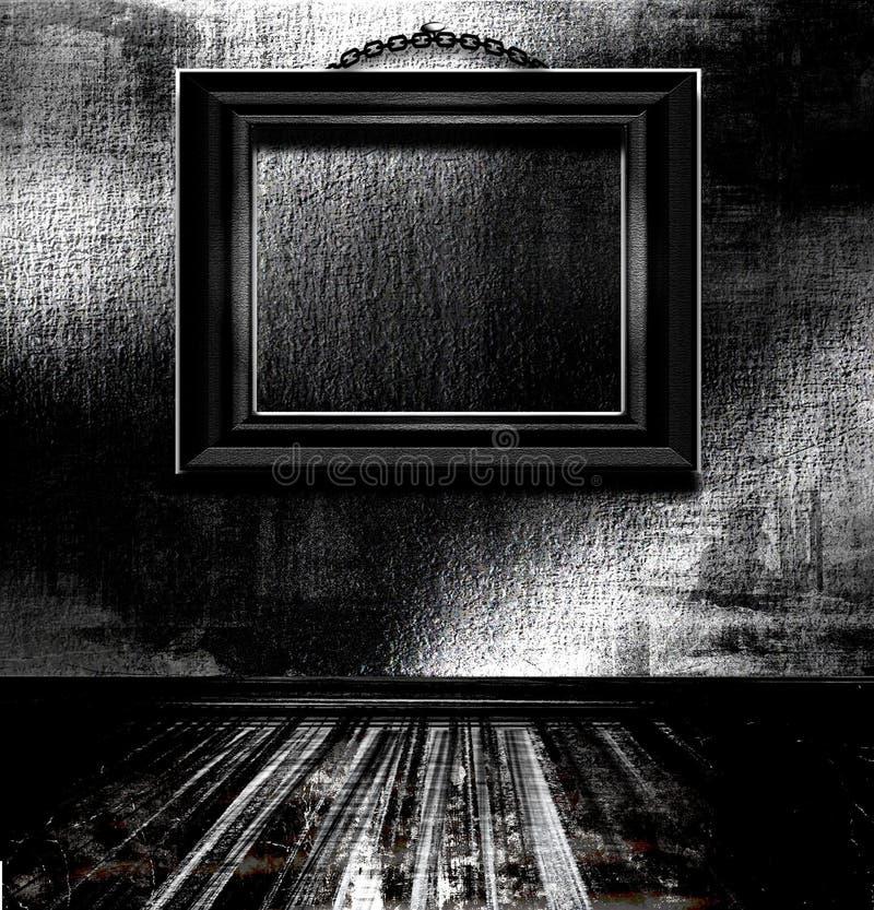 Cornice vuota sulla parete royalty illustrazione gratis