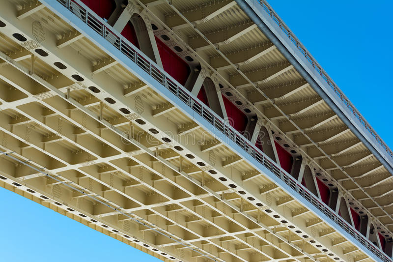 Corniche de pont photographie stock