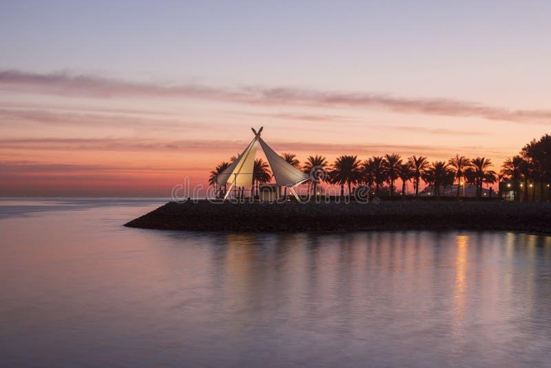 Corniche ? Kuwait City photos stock