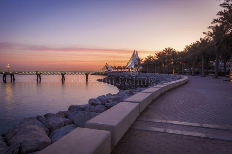 Corniche ? Kuwait City photos libres de droits
