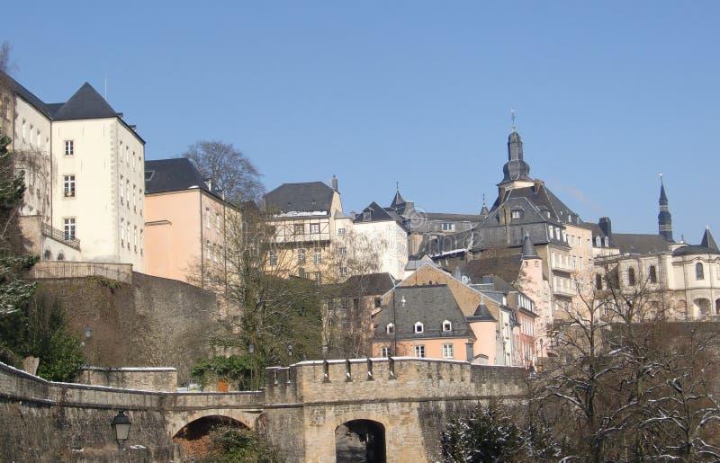 corniche Luxembourg obraz royalty free