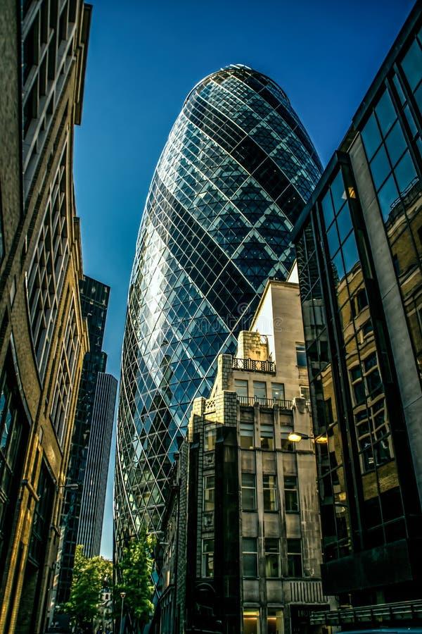 Cornichon à Londres photographie stock