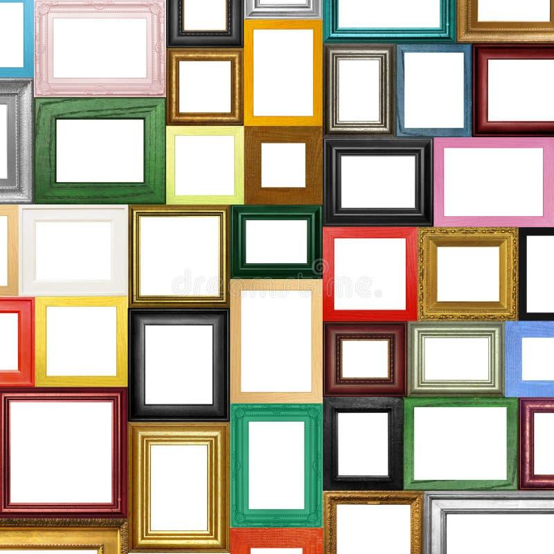 Cornici differenti immagine stock