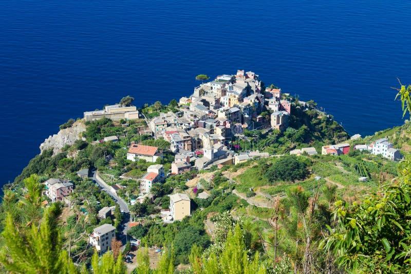Cornigiia, Cinque Terre, Italy royalty free stock photo