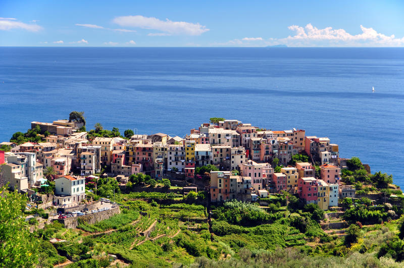 Download Corniglia, Cinque Terre stock image. Image of scenic - 16995247