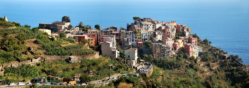 Corniglia Cinque Terre стоковые изображения rf