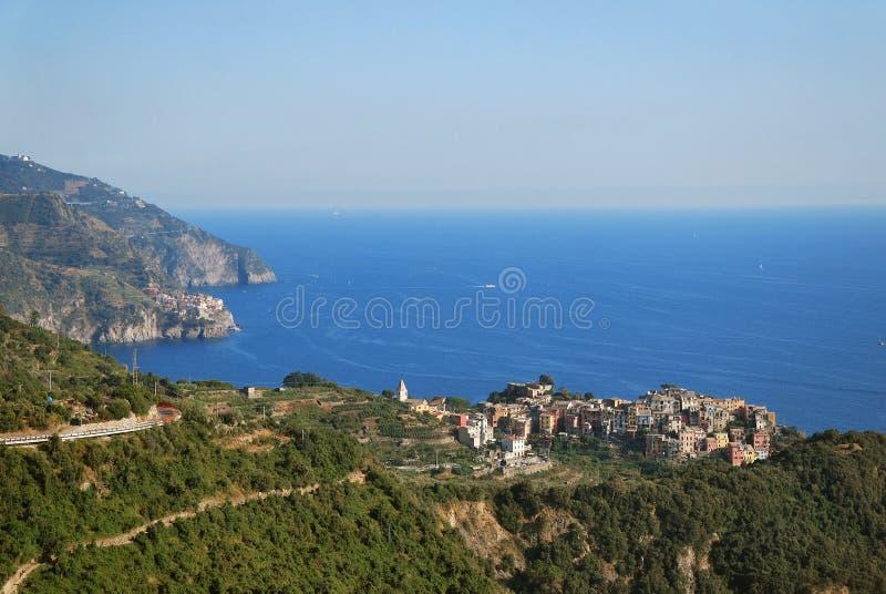 Corniglia Cinque Terre стоковые фотографии rf