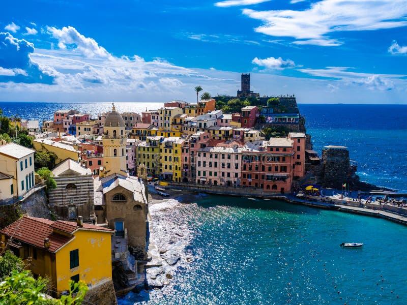 Corniglia Cinque Terre Italie images stock