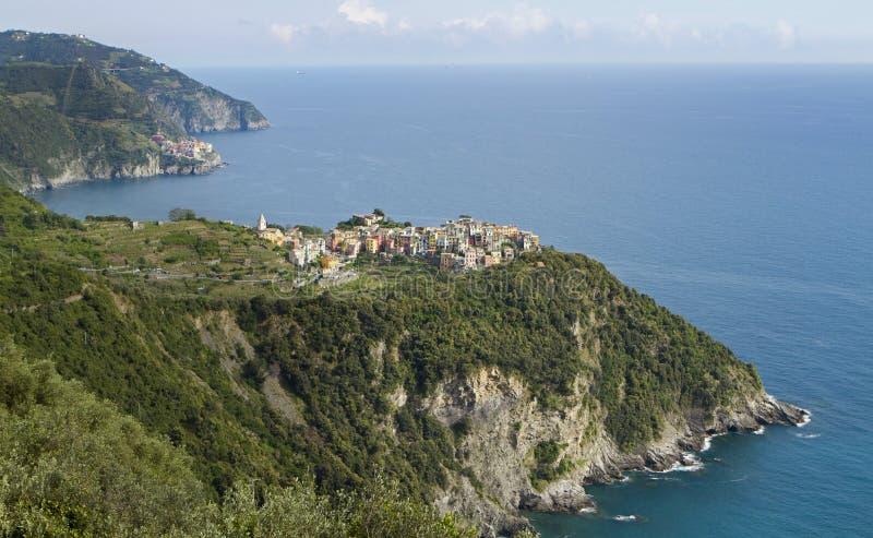 Corniglia Cinque Terre Italy image stock