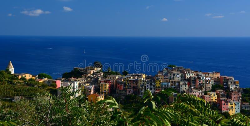 Corniglia. Cinque Terre, Liguria, Italy royalty free stock photos