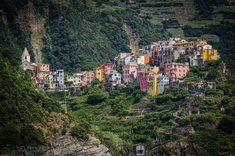 Corniglia, Italien lizenzfreie stockfotos