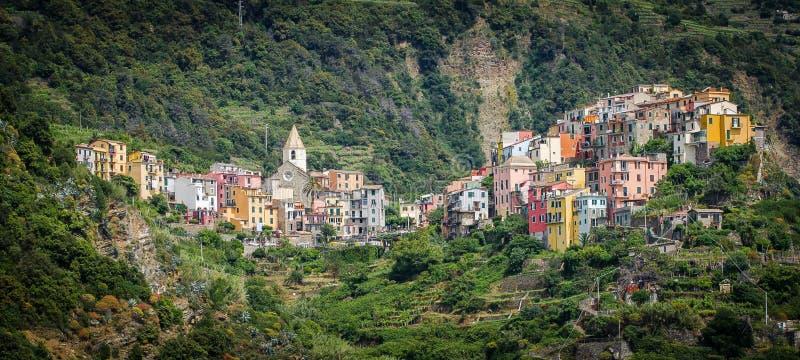 Corniglia, Italy stock images
