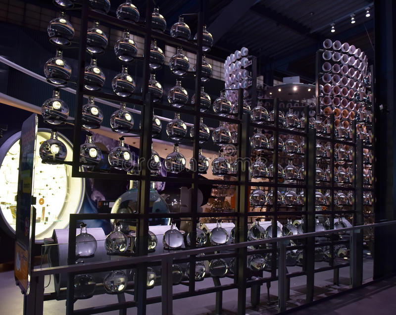 The Corning Museum of Glass. USA royalty free stock image