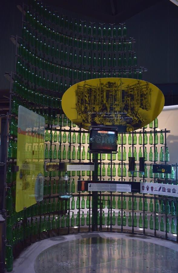 The Corning Museum of Glass. USA stock photos