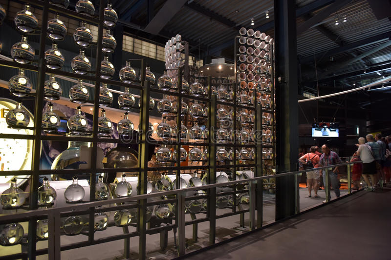The Corning Museum of Glass. USA stock image
