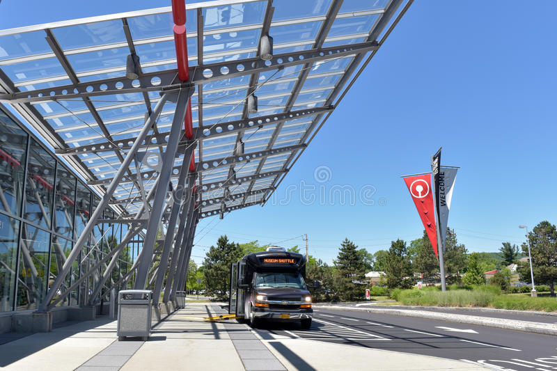 The Corning Museum of Glass. USA royalty free stock photos