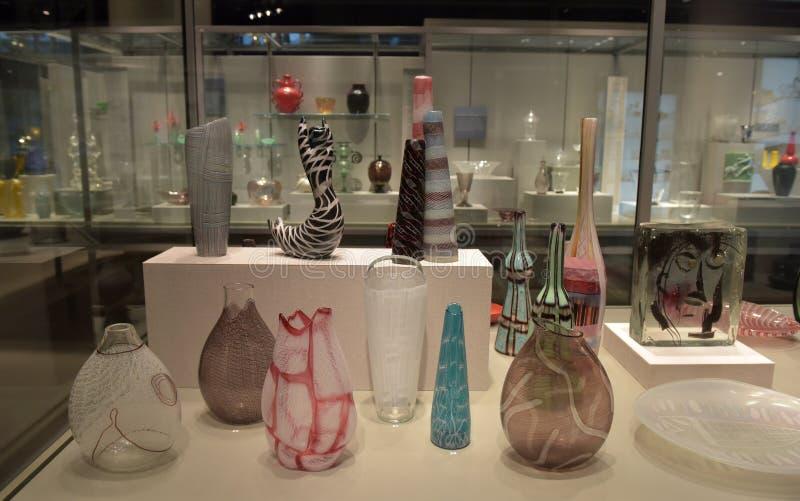 The Corning Museum of Glass. USA stock photo