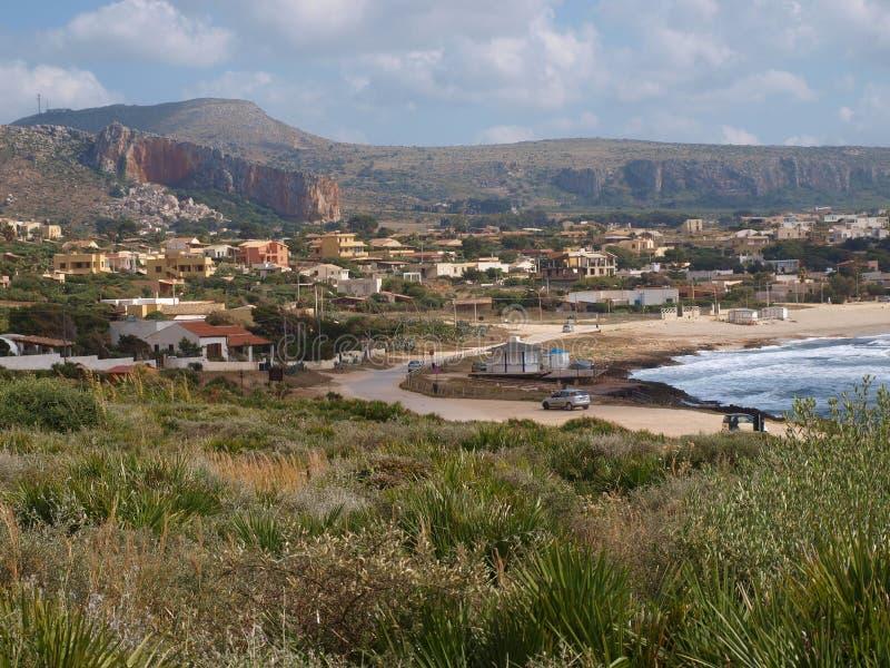 Cornino, Sicily, Italy stock image