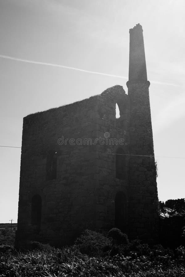 Cornish ορυχείο κασσίτερου στοκ φωτογραφία με δικαίωμα ελεύθερης χρήσης