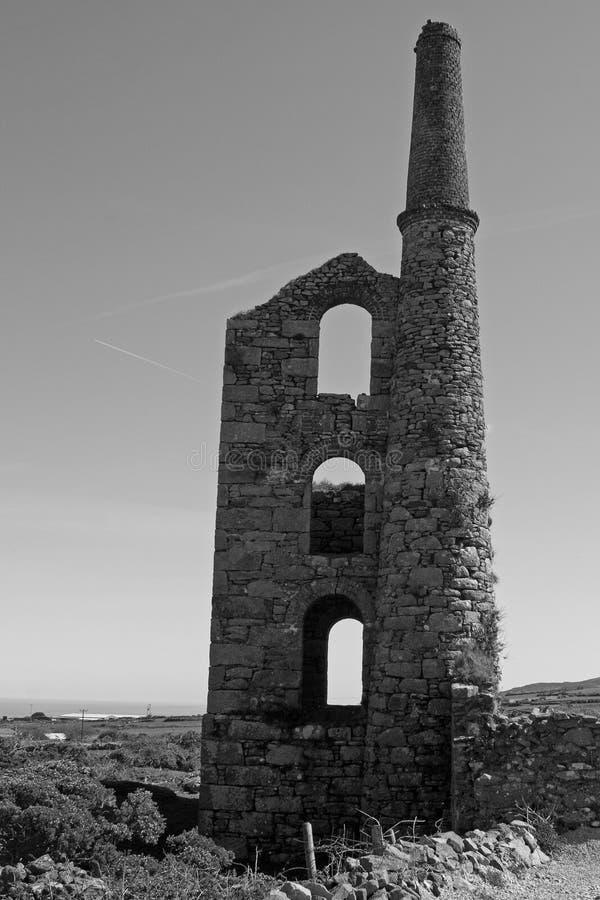 Cornish ορυχείο κασσίτερου στοκ φωτογραφίες