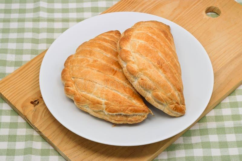 Cornish πίτες στοκ εικόνες