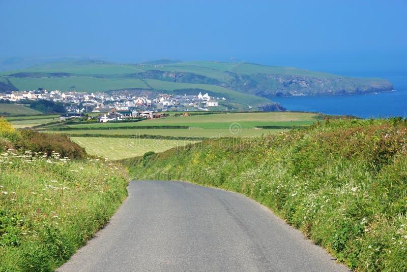 Cornish τοπίο στοκ φωτογραφία με δικαίωμα ελεύθερης χρήσης